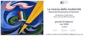 Invito_Evento Mostra Galleria Russo