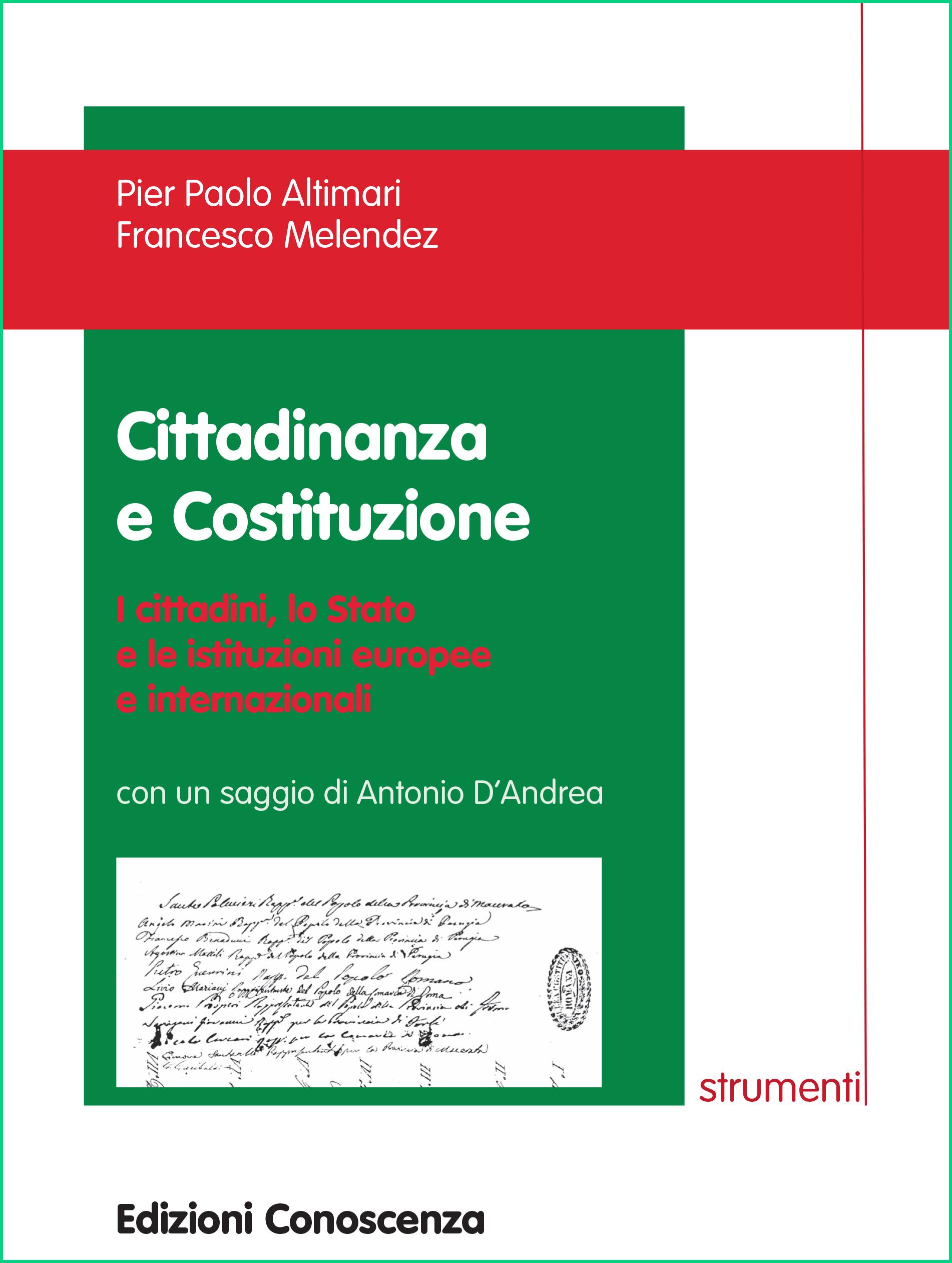 cop. cittananza e costituzione